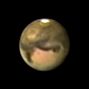 2003年9月18日の火星