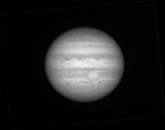Jupiter with QHY5 at Jul 12 2008