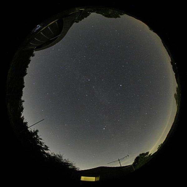 2006年8月18日 天文台屋上にて